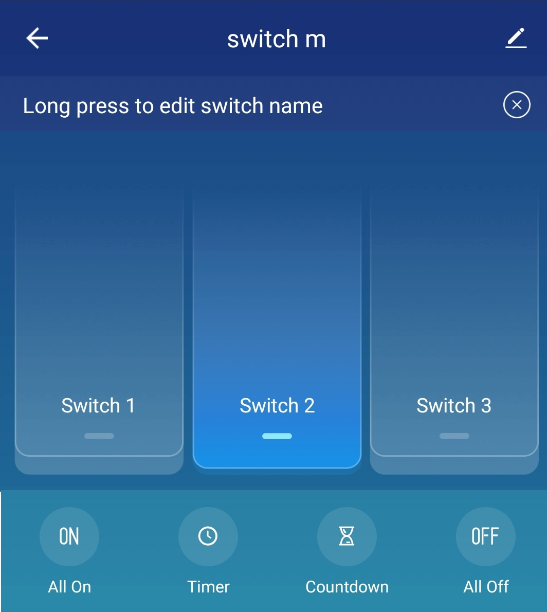 Screenshot 20190527 125712 Smart Life کلید لمسی سه پل