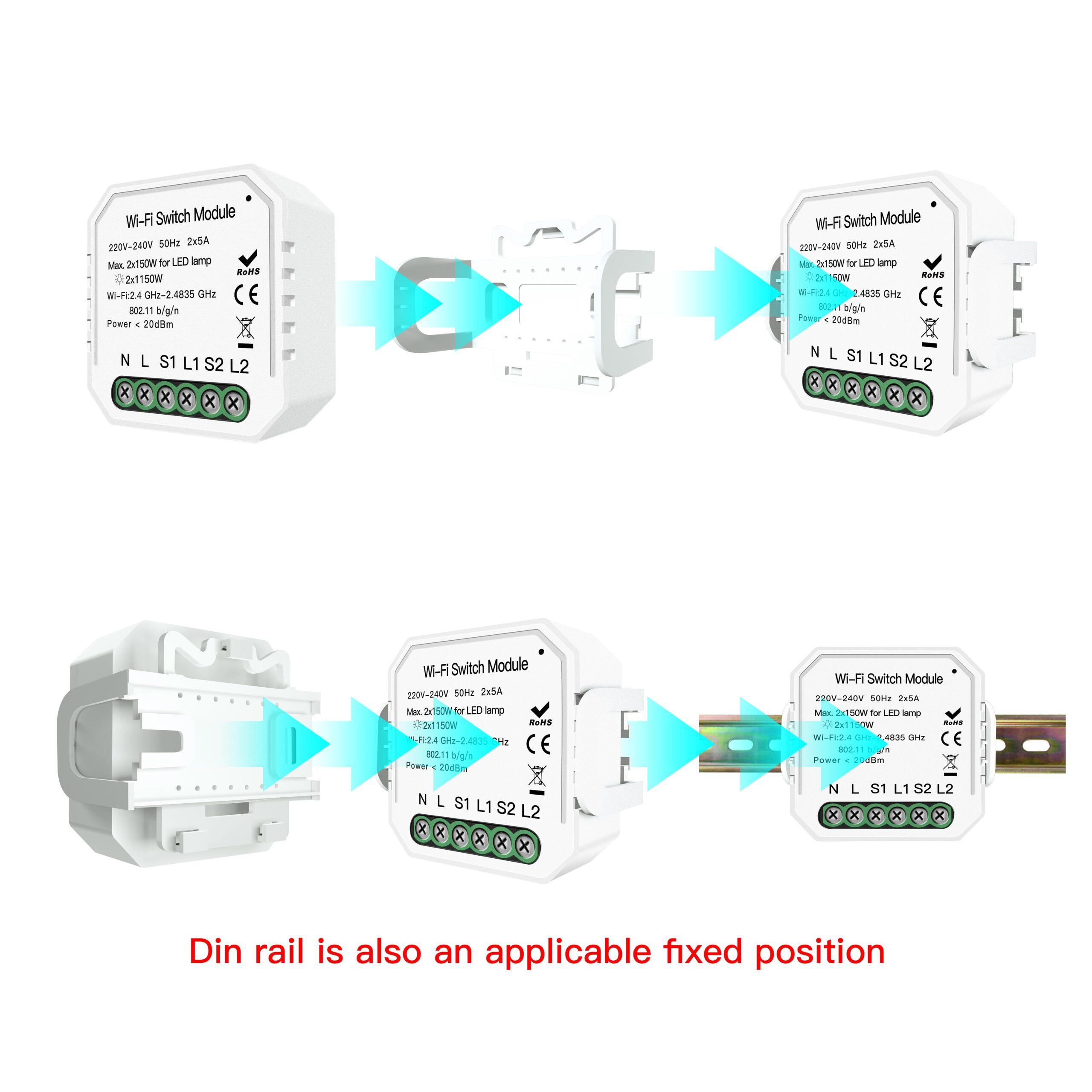 switch module 4 scaled مبدل کلید سنتی هوشمند